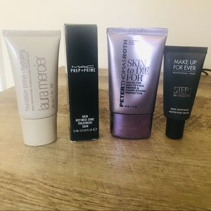 High End Makeup Face Primer Bundle